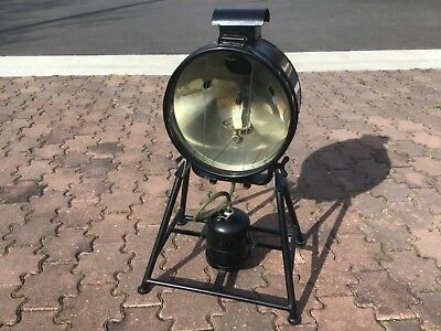 South Australian Railways SAR FL6 Tilley flood lamp on gas with stand
