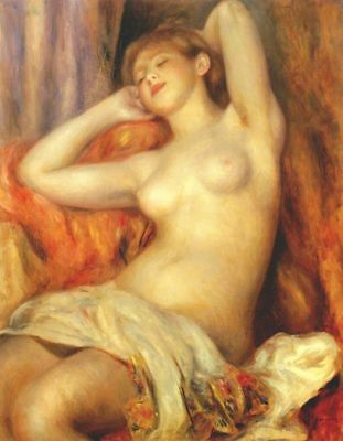 CHOP635 fine fashion nude sleeping girl hand painted oil painting canvas art