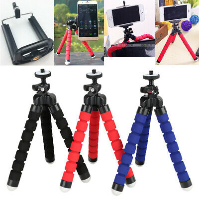 Universal Mini Mobile Phone Tripod Stand Grip Holder Mount For All Camera Phone