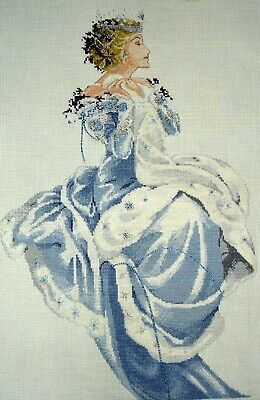 Mirabilia Large Completed Counted Cross Stitch Unframed Picture Winter Queen
