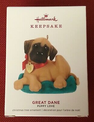 "2019 Hallmark Keepsake Ornament ~ Puppy Love Series - 29th ~ ""Great Dane"" ~ NIB"