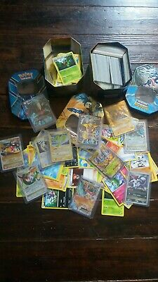 LOT 50 CARTES POKEMON FRANCAISES AVEC FULL ART ou SECRETE ou EX + BONUS
