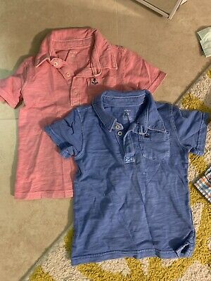 Two Carters Boy Polo Shirts Size 2T