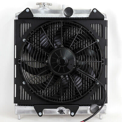 Aluminium Radiator Fan Shroud Kit with SPAL Fan For Honda Civic EG EK EJ 92-00