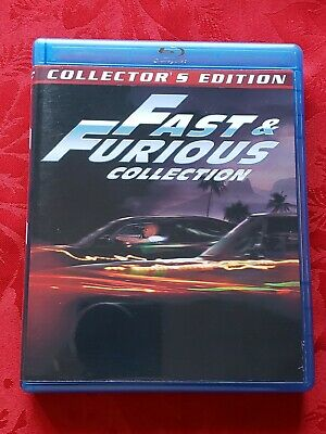 FAST & FURIOUS COLLECTION 8-Disc Set / Limited Edition / 7-Movies & 1 DVD Bonus