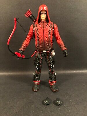 """Dc Collectibles Red Arrow Arsenal Roy Harper 7"""" Figure Dctv Cw Loose"""
