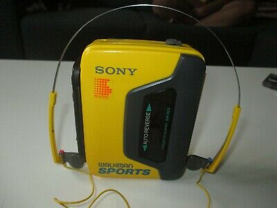 Vintage Sony Sports Walkman Auto Reverse Portable Cassette Player WM-B53