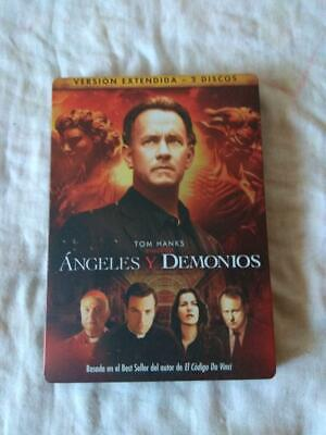 Angels and demons steelbook dvd 2 discs. Extended edition // Read description