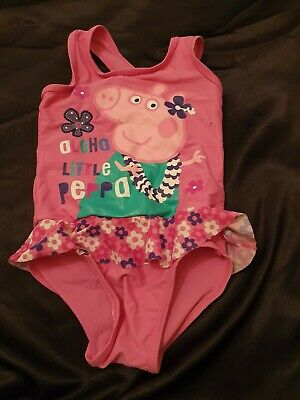 Lovely Girls george peppa pig Swimming Costume Age 2-3 Years