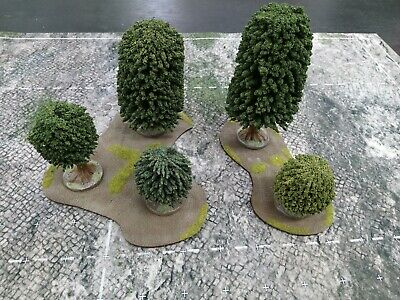 Warhammer AOS Terrian Scenery Trees