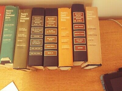 readers digest condensed books 1970's and 1980's ,1990 Pick your volume