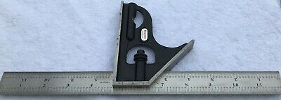 Starrett Combination Square W/ 12 Inch Regular Steel Blade Enameled No Scribe