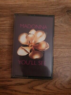 Madonna You'll see UK cassette single