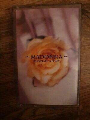 "Madonna - ""Bedtime Story"" - Rare U.k. Original Cassette Single !  Nm!"