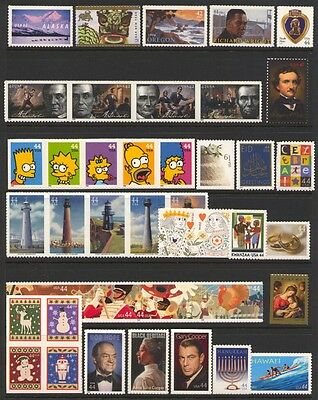 2009 U.s. Commemorative Year Set *41 Stamps* Mint-Nh