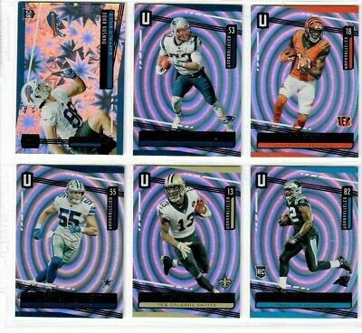 2019 Panini Unparalleled Football You Pick WHIRL #/129 THOMAS FANT RC VANDER +++