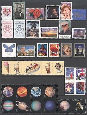 2016 U.s. Commemorative Year Set *61 Stamps* Mint-Nh