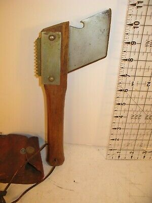 Early Vintage Antique Primitive Produce Tobacco Cutting or Skinning Tool Farming