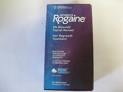 Women's Rogaine Foam Treatment 4 Month Supply Free Shipping  02/2020 +