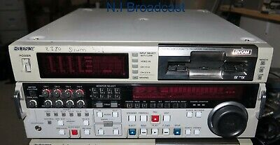 1x Sony dsr2000p pal dvcam studio recorder / player with SDI and firewire option