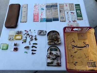 Orvis LL Bean Fly Fishing Lot Tackle Vintage Fishing Lure