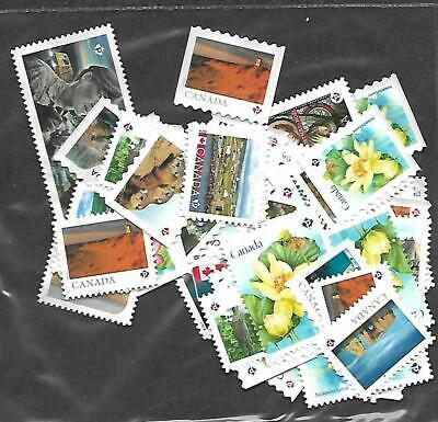 50p stamps uncanceled from canada picture is sample
