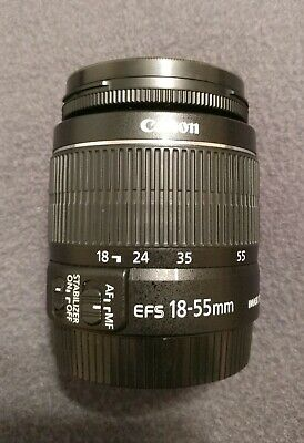 Canon Zoom Lens EF-S 18-55mm f/3.5-5.6 IS II Camera Macro Lens 0.25m/0.8ft
