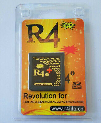 R4i Gold Plus - R4 featuring built-in NTRboot capabilities - USA to USA shipping