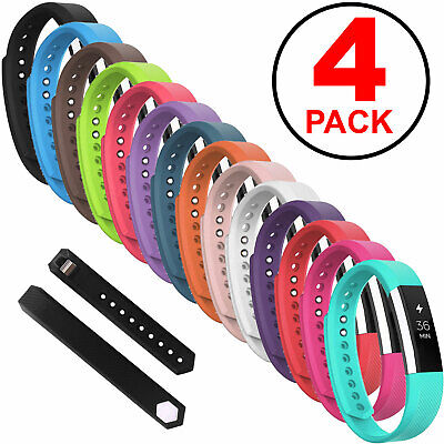 4-Pack Replacement Silicone Wrist Band Strap For Fitbit Alta / Fitbit Alta HR