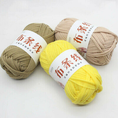 100g Ball Super Soft Cotton Yarn Thick 7Ply DIY Hand Weave Crafts Wrap Knitting