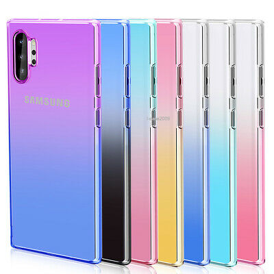 Case For Samsung Galaxy Note 10 Plus 9 Clear Silicone Soft TPU Ultra Slim Cover