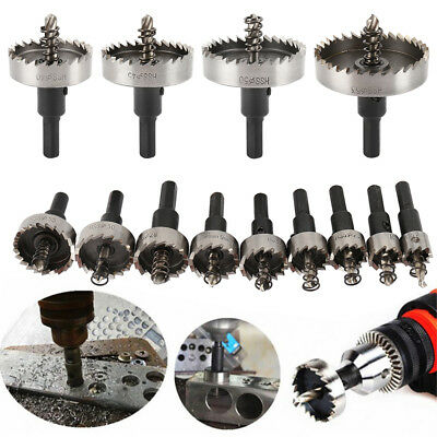 13PC Hole Saw Tooth Kit HSS Steel Drill Bit Set Cutter Tool For Metal Wood Alloy