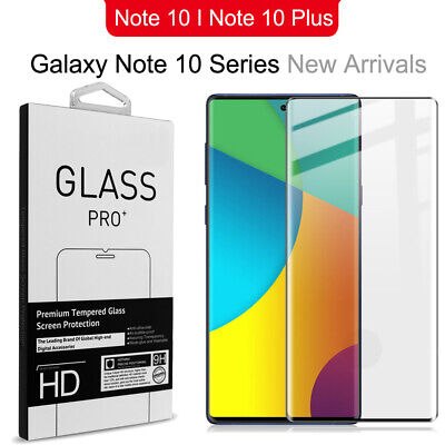 For Samsung Galaxy Note10 Plus Pro Full Cover Tempered Glass Screen Protector HX