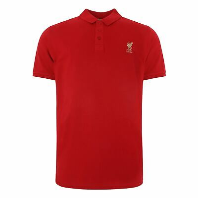 Liverpool FC Vintage Red Mens Football Conninsby Polo T-Shirt LFC Official