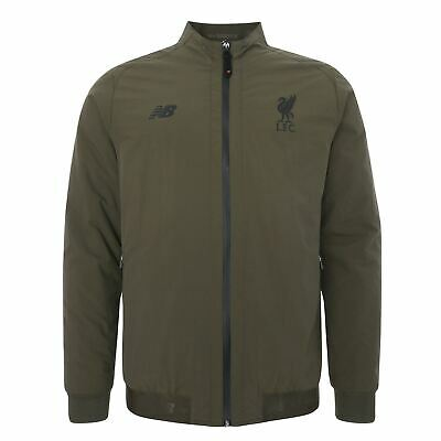 Liverpool FC Green Adults NB Street Training Terrace Game Jacket LFC Official