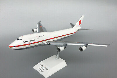 JC WINGS Japan Boeing 747-400 Prime Minister Flap Edition 1/200 diecast aircraft