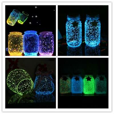 4X Luminous Glow Sand Fluorescent Particle Sand In the Dark Party Decor DIY Gift