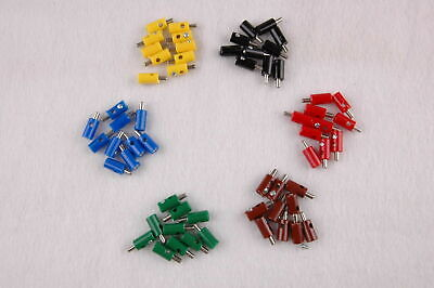 """(Pieces 19,9 CT) Plug 2,6mm with Transverse Hole - 60 Pieces Sorted """" New """""""