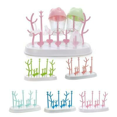 Removable Baby Bottle Holder Drying Rack Feeding Bottles Storage Cleaning Shelf