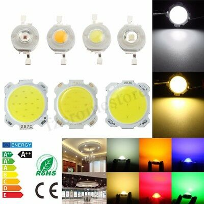 SMD LED COB Chip High Power Bead Light Lamp Bulb Warm/Cool White DIY 1W 3W 5W