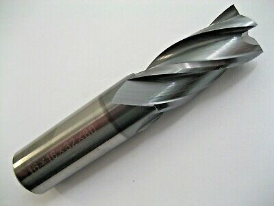 16mm SOLID CARBIDE 4 FLUTED ALCrN COATED END MILL EUROPA TOOL OEMSC416  #B5