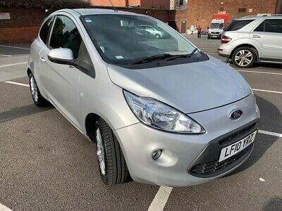 2010 Ford KA silver 35K miles with Leather interior and Parking sensors