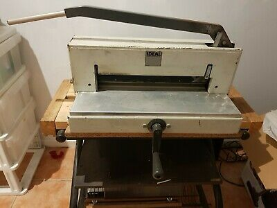 Ideal Guillotine Made In Germany Cuts A3 To B6 Etc