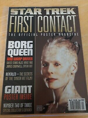 Star Trek First Contact The Official Poster Magazine Number 2 of 3