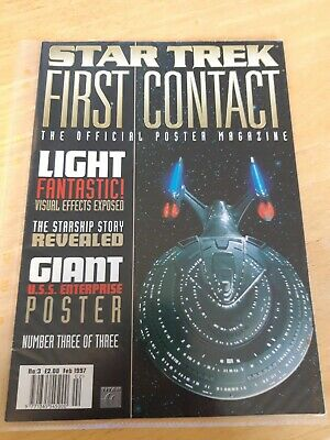 Star Trek First Contact The Official Poster Magazine Number 3 of 3