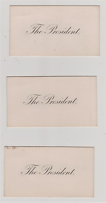 President William McKinley Personal Visiting Cards And Envelope