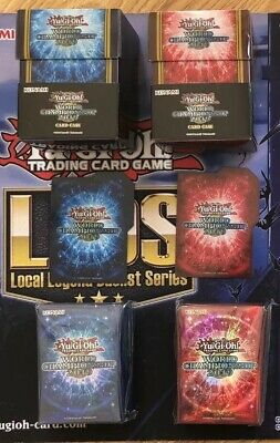 yugioh world championship 2019 Deck Case (deck box) and Sleeves Set