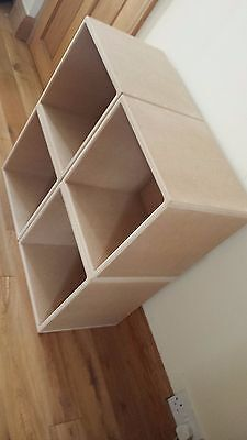 "12"" Record Storage Cube (4 CUBE SPECIAL OFFER)"