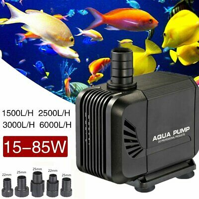 Water Pump Feature Fountain Outdoor Garden Fish Pond Completely Submersible New