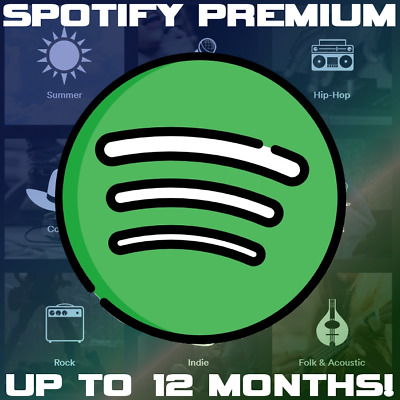 Spotify Premium - New Account (Up To 12 Months!) Instant Delivery!
